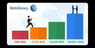 Цветовая дифференциация штанов у Webmoney!